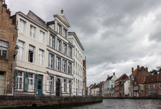 Historical Houses Bruges Belgium Stock Photography