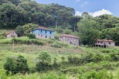 Historical Houses Caminhos de Pedra Brazil Royalty Free Stock Photos