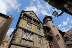 Historical houses in Colmar  Stock Photography