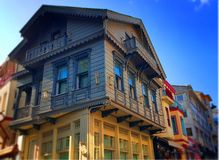 Historical Houses. İstanbul old houses.with art and history Royalty Free Stock Images