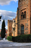 Historical Houses in Toledo, Spain Stock Photography
