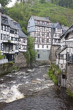 Historical houses in Monschau Stock Photography