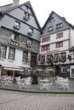Historical houses in Monschau Royalty Free Stock Photography