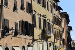 Houses in Florence, Italy Stock Photography