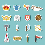 Historical icon vector Stock Images
