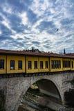 Historical irgandi bridge Stock Photography