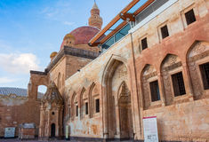 Historical Ishak Pasha Palace Turkey. Ishak Pasha Palace and historic landscapes, winter ground Royalty Free Stock Photo