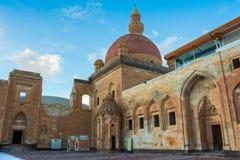 Historical Ishak Pasha Palace Turkey. Ishak Pasha Palace and historic landscapes, winter ground Royalty Free Stock Image