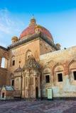 Historical Ishak Pasha Palace Turkey. Ishak Pasha Palace and historic landscapes, winter ground Royalty Free Stock Photos