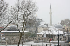 Istanbul in winter Royalty Free Stock Photography