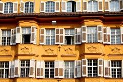 Historical Italian building Stock Photo