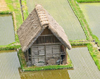 Historical Japanese Village - Shirakawa-go Royalty Free Stock Image