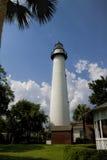 Historical Jekyll Island Lighthouse Georgia USA Royalty Free Stock Photo