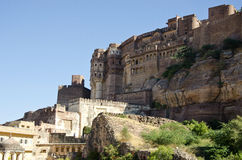 Historical Jodphur fort in Rajasthan, India Royalty Free Stock Image