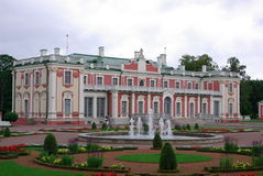 Historical Kadriorg Palace Royalty Free Stock Photography