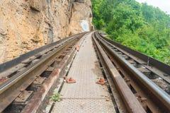 Historical Kanchanaburi rail. Thailand Asia Royalty Free Stock Photography
