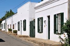 Historical Karoo houses in Colesberg Stock Images