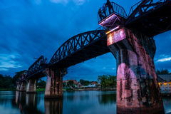 Historical Kwar river bridge Royalty Free Stock Image