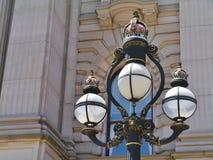 Historical lamp post royalty free stock photo
