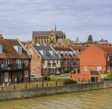 Historical landmark around Arundel Castle. United Kingdom royalty free stock image