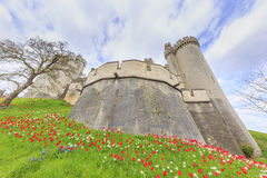Historical landmark around Arundel Castle Stock Image