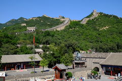 Badaling Great Wall. The historical landmark in Beijing, China - Great Wall, one of the famous wonders in the world Stock Images