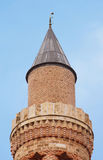 Historical Landmark Grooved Minaret Yivli Minare Kaleici Royalty Free Stock Photography