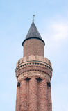 Historical Landmark Grooved Minaret Yivli Minare Kaleici Stock Images