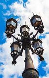 Historical lantern in Dresden Germany. Royalty Free Stock Images