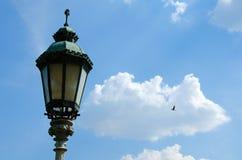 Historical lantern Stock Image