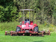 Historical lawn-mower Royalty Free Stock Image