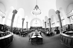 Historical library Royalty Free Stock Images