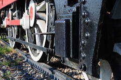 Historical Locomotive Detail Royalty Free Stock Photos