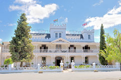 Historical Lord Milner Hotel in the Victorian village of Matjies Stock Image