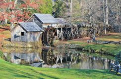 Historical Mabry Mill Royalty Free Stock Photography
