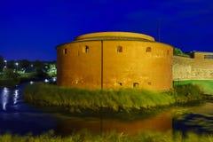 The historical Malmo Castle Stock Photos