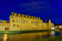 The historical Malmo Castle. Around night at Malmo, Sweden Stock Photo
