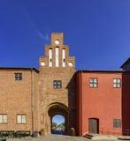 The historical Malmo Castle. At Malmo, Sweden Stock Photos