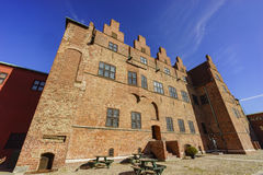 The historical Malmo Castle. At Malmo, Sweden Royalty Free Stock Photo