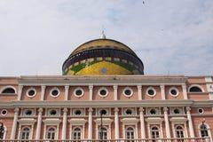 Historical Manaus Opera House Royalty Free Stock Photos