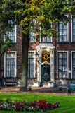Historical manor house. At the harbor of Zierikzee, south holland Stock Images