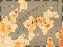 Historical map Royalty Free Stock Photography