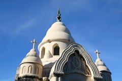 Supetar, Croatia. Historical mausoleum on a cemetery in Supetar, island Brac, Croatia royalty free stock photos