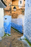 Historical medina of Chefchaouen Stock Photography