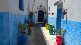 Historical Medina of city of Rabat, Morocco.  royalty free stock images