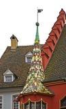 Historical Merchants Hall in Freiburg im Breisgau. Germany Royalty Free Stock Photography
