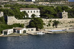 Historical Military Hospital, Menorca, Spain Stock Photography