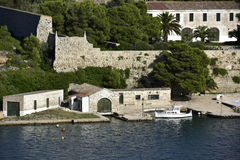 Historical Military Hospital, Menorca, Spain Royalty Free Stock Image