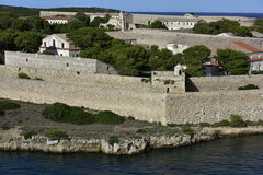 Historical Military Hospital, Menorca, Spain Stock Image