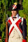 Historical military reenacting Stock Photos